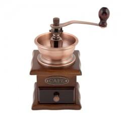 Кофемолка с деревянным основанием, микс(827-001)